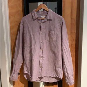 Gap linen long sleeve shirt